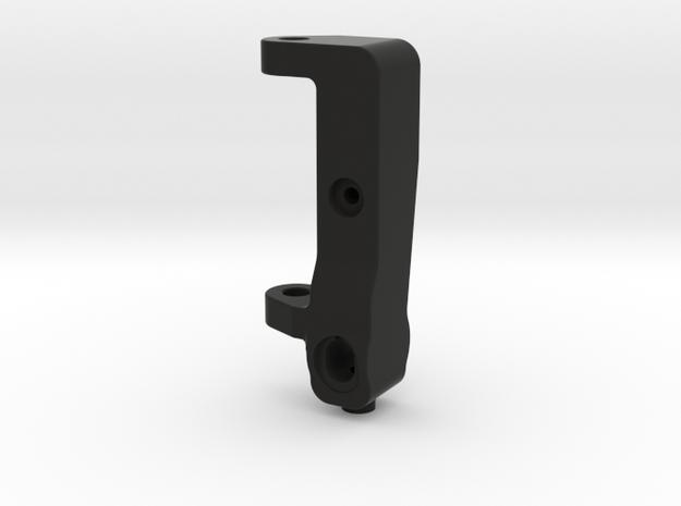 GF5 RF Lowered Caster Block in Black Natural Versatile Plastic
