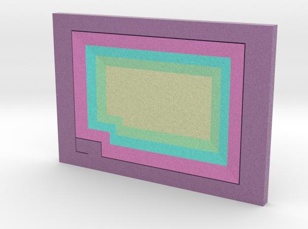 Steven Universe - Gem - Bismuth in Full Color Sandstone