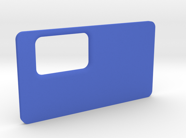 little k door v2 in Blue Processed Versatile Plastic