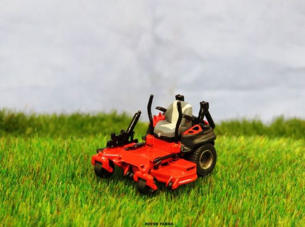 1/64 Scale Gravely Zero Turn Mower- V1 in Smooth Fine Detail Plastic