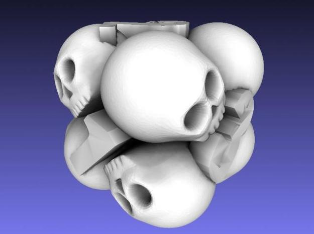 Ossuary d6 3d printed Description