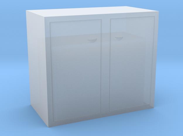 Mülltonne doppelt H0 und 0 in Smoothest Fine Detail Plastic: 1:87 - HO