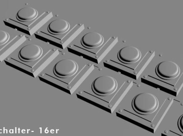 16  switches with round button for wargaming, tabl 3d printed schalter-multi