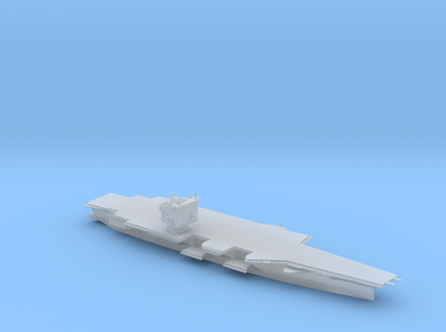 USS Enterprise CVN-65 in 1800 in Smooth Fine Detail Plastic
