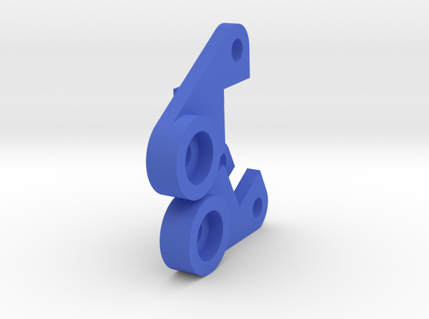 Galaxy Rear Frame Mount in Blue Strong & Flexible Polished