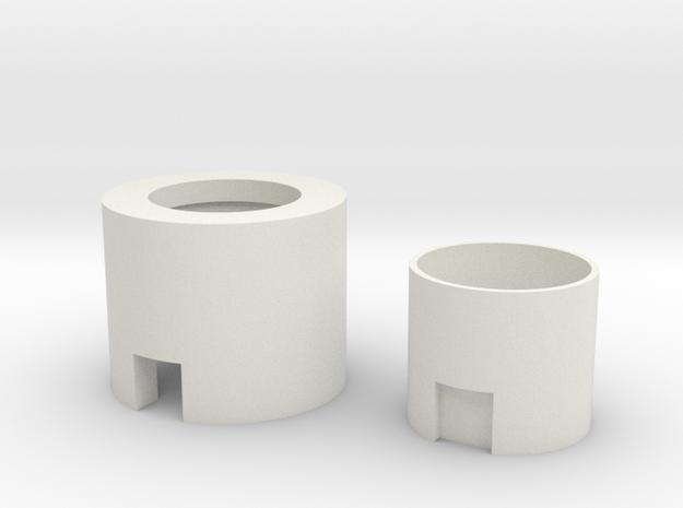 "Neopixel Hilt Plug 1"" for SH Ahsokas hilts in White Natural Versatile Plastic"