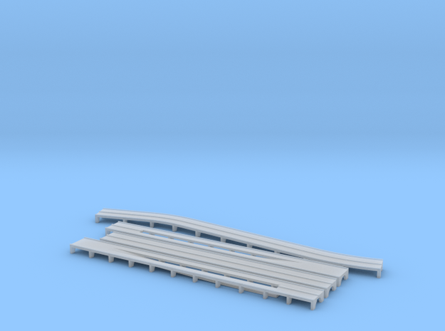 West Side Elevated Highway 1943 / 41th - 54th Stre in Smooth Fine Detail Plastic