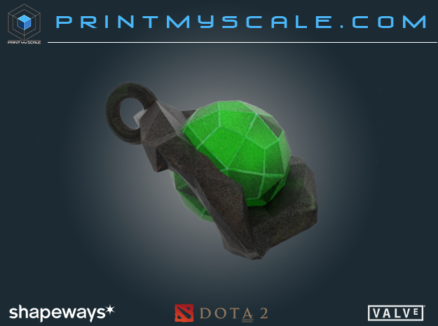 Dota 2 Gem item in Full Color Sandstone