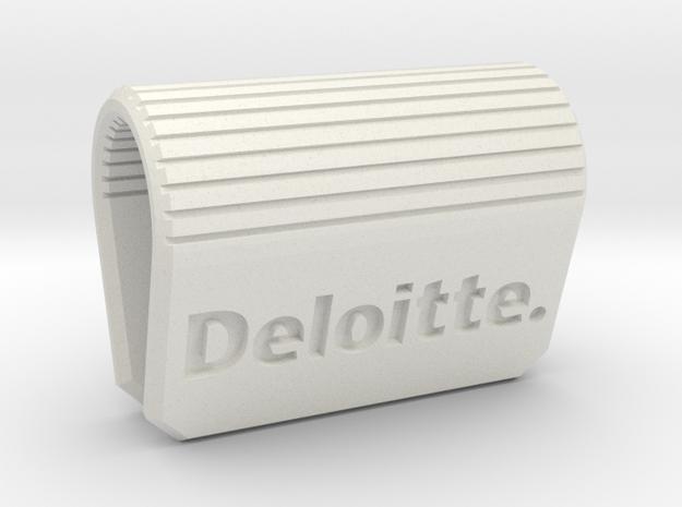 Webcam-Clip Deloitte Edition  in White Strong & Flexible