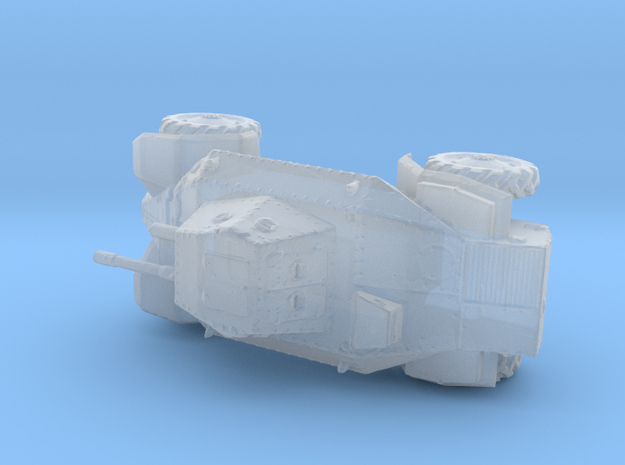 1/285th 39M Csaba armoured car in Smooth Fine Detail Plastic