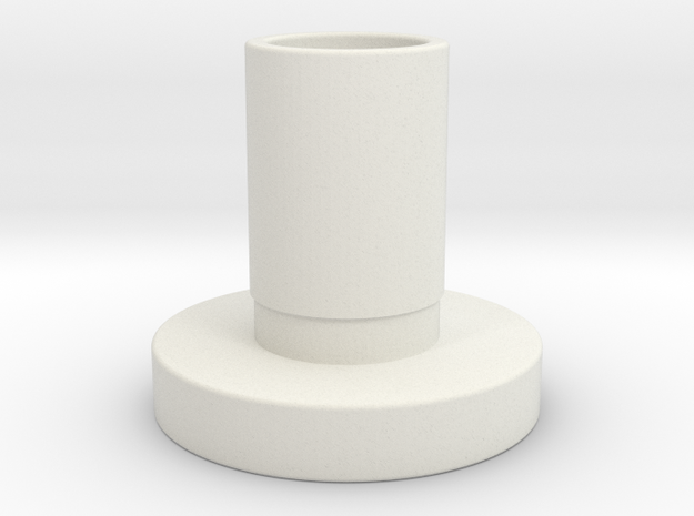 "Atlas 12"" lathe gear sleeve (same as part 9-73A) in White Natural Versatile Plastic"
