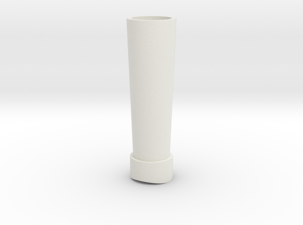 BMA-009 MRR Forney Chimney in White Natural Versatile Plastic
