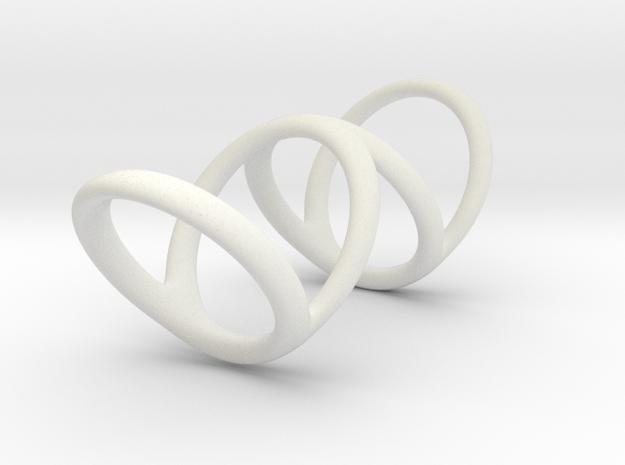 Ring for Bob L1 1 L2 1 D1 3 1-2 D2 5 D3 6 in White Natural Versatile Plastic