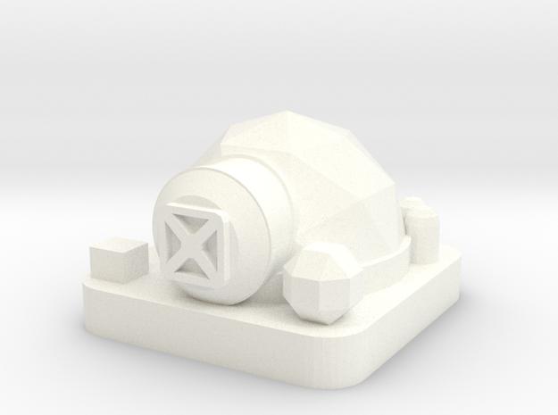 Mini Space Program, Habitat Dome in White Processed Versatile Plastic