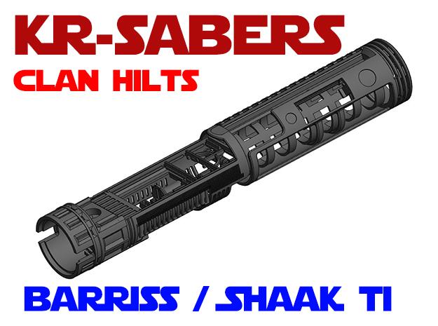 KR-S Clan Hilts - Barriss / Adi / Shaak Ti Chassis