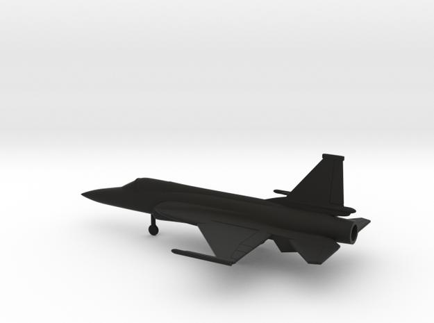 Chengdu FC-1 Xiaolong / JF-17 Thunder in Black Natural Versatile Plastic: 1:160 - N