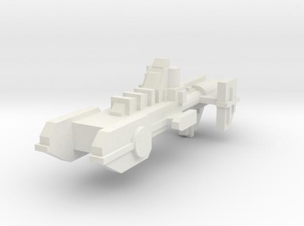 Destructor Cazador in White Strong & Flexible