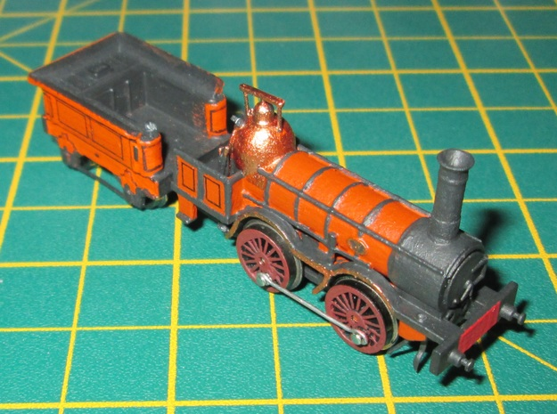 N Gauge 1846 Coppernob Loco Scratch Aid in Smooth Fine Detail Plastic