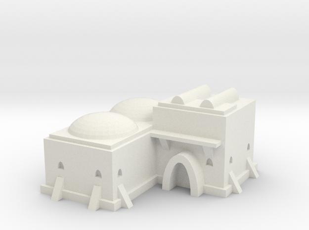 Tatooine Building 3  in White Natural Versatile Plastic