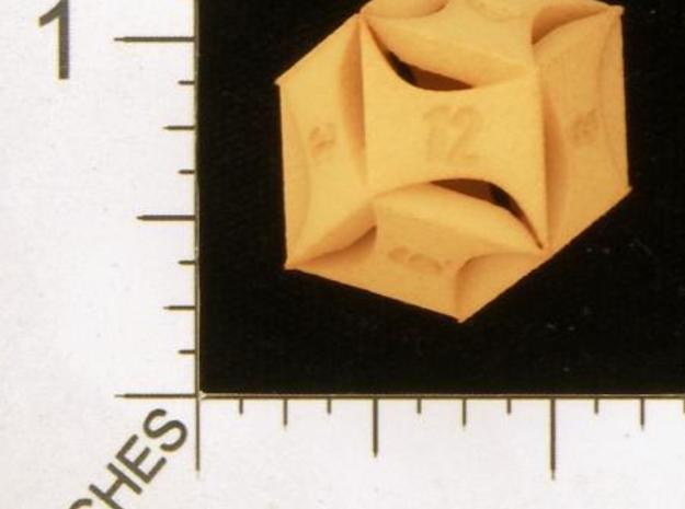 Flash Rhombic d12 3d printed from dicecollector.com