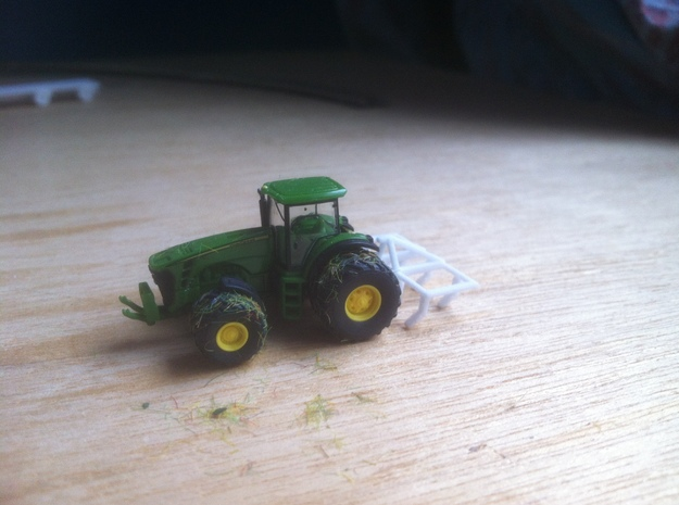 1:160/N-Scale Cultivator 3d printed Add a caption...