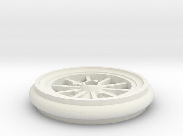 model car wheel in White Strong & Flexible