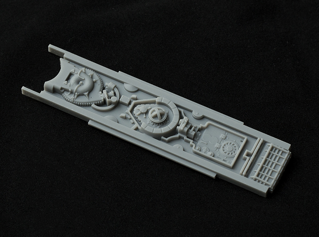 Accurate top cluster for 1/29 Scale Revell X-Wing in Smooth Fine Detail Plastic