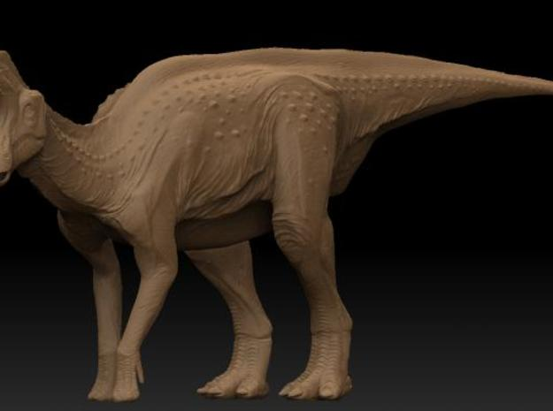 Lambeosaurus m. Standing Large in White Strong & Flexible