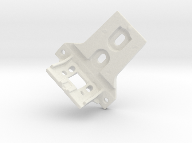 Shade Bracket 316 B in White Natural Versatile Plastic