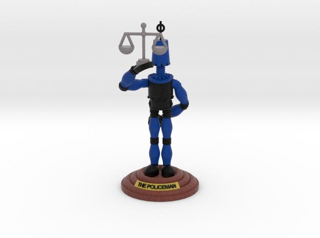 boOpGame Shop - The Policeman in Full Color Sandstone