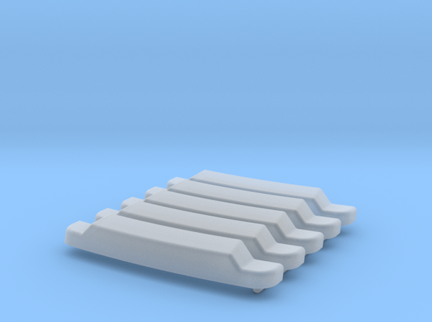 H0 1:87 Sonnenblende für Iveco 24,5mm in Smooth Fine Detail Plastic