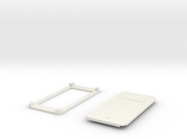 PAPERPROTO-8 in White Natural Versatile Plastic