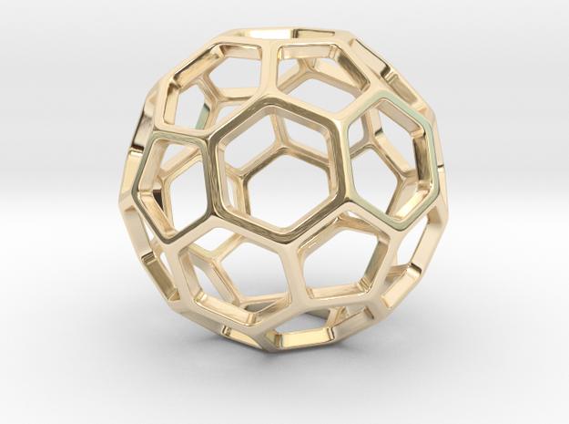 Geodesic Wire ::: Circle Pendant