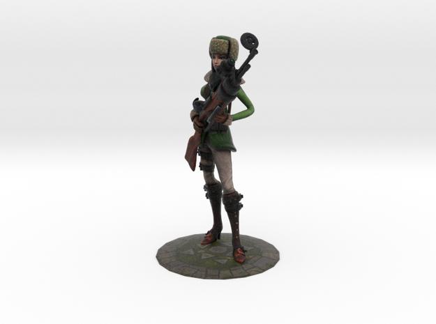 Artic Warfare Caitlyn (old) in Full Color Sandstone