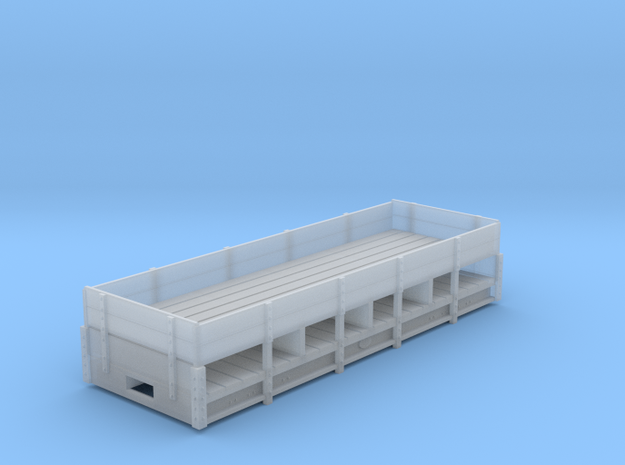 RAR 2 plank dropside bogie open in Smooth Fine Detail Plastic: 1:43.5