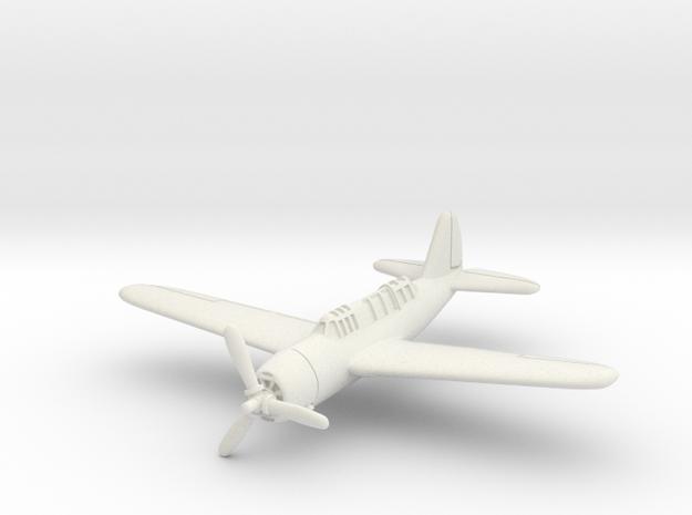 Brewster SB2A Buccaneer 1/285 6mm in White Natural Versatile Plastic