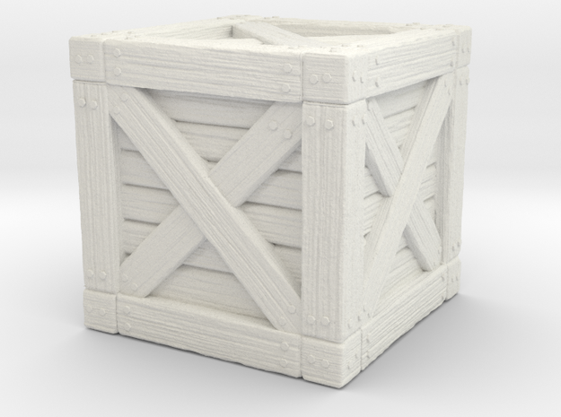 Wooden Crate Enviornment Miniature