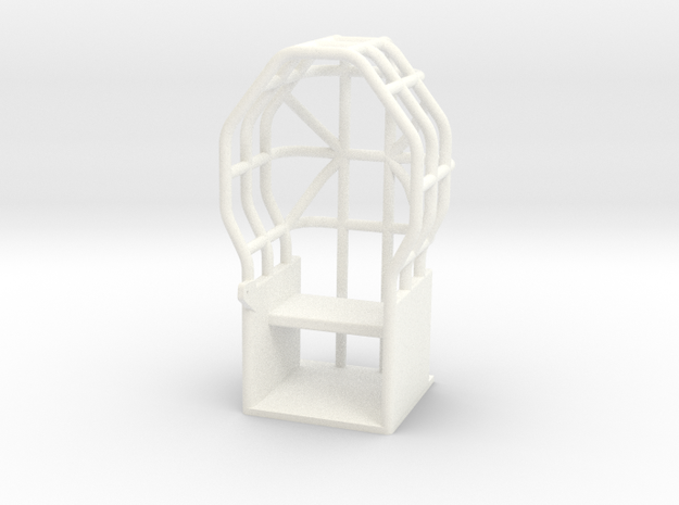 HASLAG STLYE ROLLCAGE in White Processed Versatile Plastic
