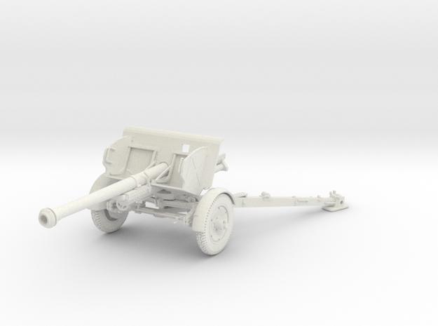 1/30 IJA Type 90 75mm Field Gun in White Natural Versatile Plastic