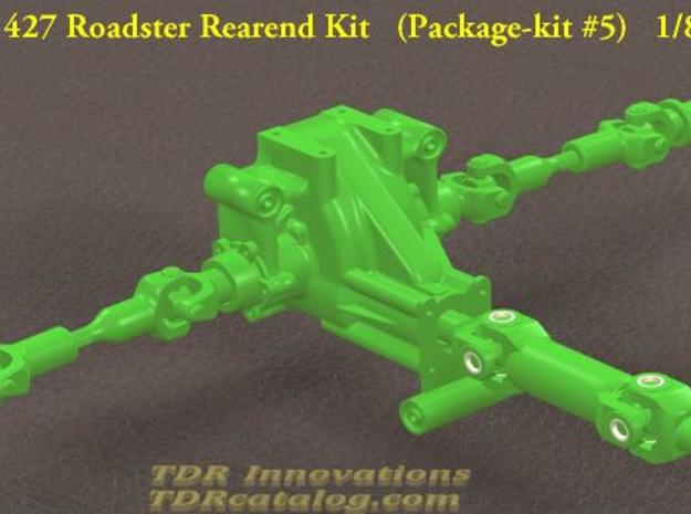 TDR 427 Roadster Rear Differential Kit 3d printed pic 1