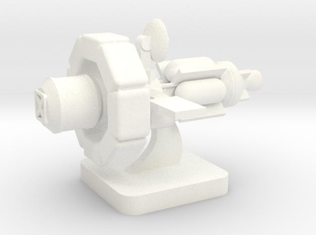 Mini Space Program, Interplanetary Ship 4 in White Processed Versatile Plastic