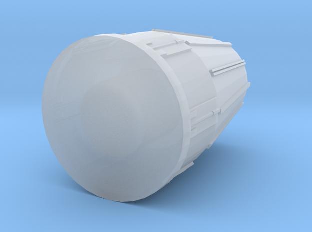 28mm Tornado Engine Exhaust in Smooth Fine Detail Plastic