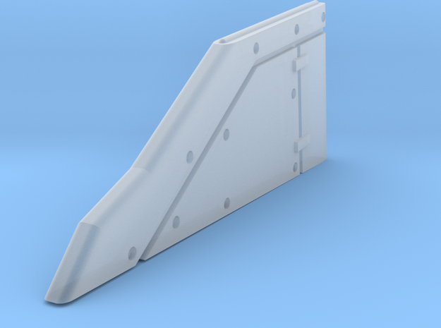 28mm Tornado Vertical Tail in Smooth Fine Detail Plastic