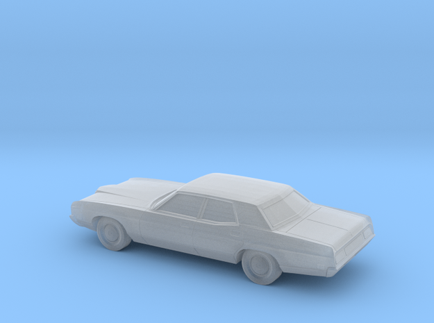 1/220 1971-72 Ford LTD Sedan in Smooth Fine Detail Plastic