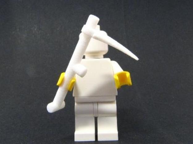 Scythe for minifigs 3d printed Photograph