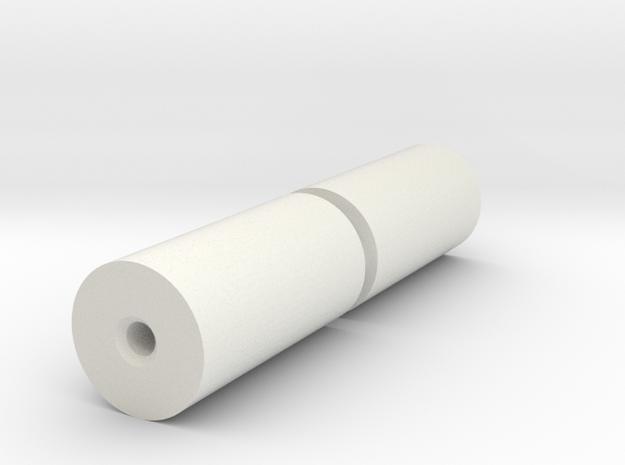 Rolls for Flatracks in White Natural Versatile Plastic