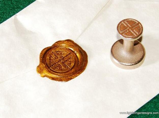 Shield Knot Wax Seal 3d printed