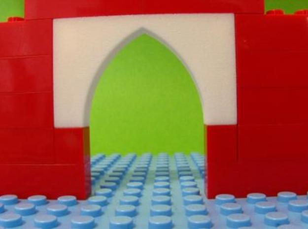 Pointed Gothic Arch 6 x 3 x 1 3d printed Photograph 2