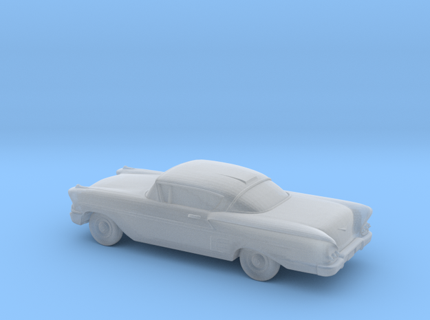 1/220 1958 Chevrolet Impala Coupe in Smooth Fine Detail Plastic