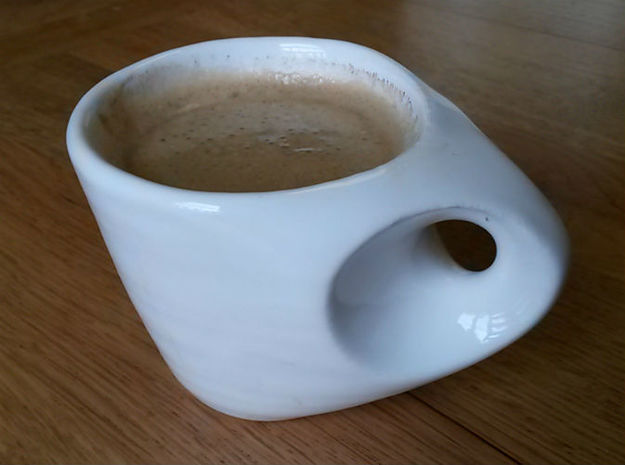 Hidden Maths Espresso Cup 3d printed Mmm Morning Coffee :-)
